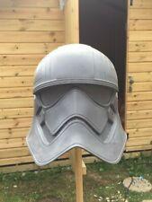 STAR Wars 1:1 CAPITANO Phasma Stormtrooper Casco PROP REPLICA (Raw cast)