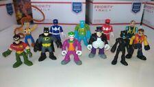 Playskool Super Hero Action Figures Power Rangers Batman Robin Joker Catwoman