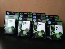 HP 940XL high capacity ink cartridges (11) June to August 2017 expirations