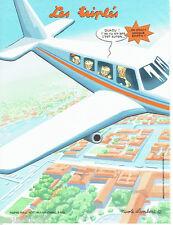 PUBLICITE ADVERTISING 125  2011  NICOLE LAMBERT  les triplés Google Earth