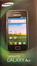Samsung Galaxy Ace gt-s5830i - Schwarz (Entsperrt) 3g WiFi Android Smartphone Handy