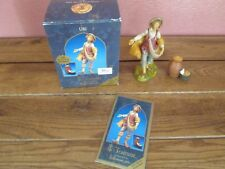 Fontanini Nativity Uri Figurine by Roman 2002 Special Event Figure w/ Accessory