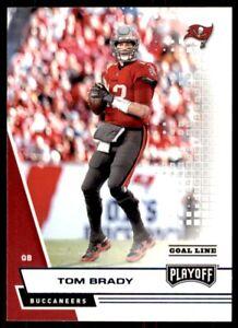 Tom Brady 2020 Panini Playoff KICKOFF Blue Foil Card #130 Buccaneers GOAT MVP