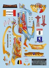 DECALS 1/32 PEUGEOT 207 S2000 #8 LOIX - RALLYE IRC D'YPRES 2009 - COLORADO 32211