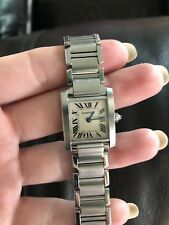 Cartier Tank Francaise W5000256 Wrist Watch for Women
