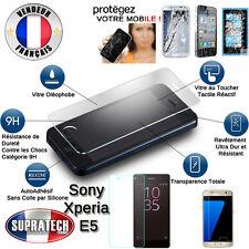 Protection d'Ecran en Verre Trempé Contre les Chocs pour Sony Xperia E5