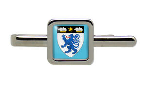 Middlesbrough (England) Square Tie Clip