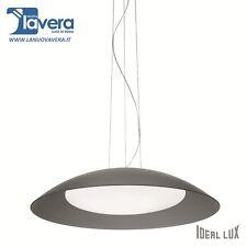 Lampadario Ideal Lux Lena Sp3 D64 Grigio codice 66592