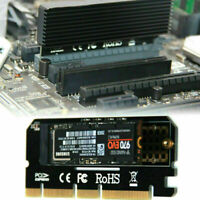 M.2 NVMe SSD NGFF to PCIE 3.0 X16 Adapter M Key Interface SPEED Card FULL L0Z1