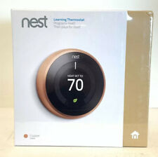 NEW Nest 3rd Generation T3021US Learning Copper Programmable Thermostat