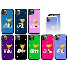 Número 1 Funda Antigolpes / Para IPHONE 5 5s Se 6 6s 7 8 Plus X XS 11 Pro Max XR
