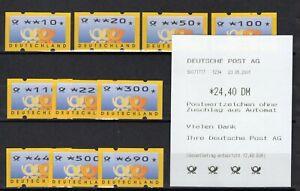 ATM 3.3  TS1  postfrisch mit Quittung ANSEHEN TOP !!!
