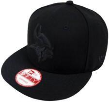 New Era NFL Minnesota Vikings Black On Black Snapback Cap 9 fifty Limited Edition