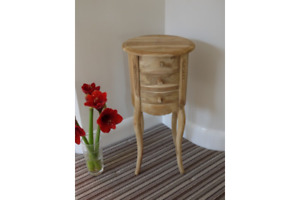 Bedside Cabinet Country Style cabinet 3 drawer chests Locker ready to finish
