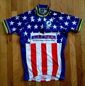 World Champion Cycling Jersey Team Luna Small Castelli USA