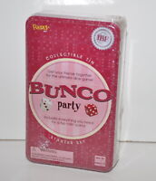 Deluxe Collectible sealed Game Tin NEW Bunco Party Starter Set