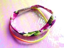 Modeschmuck-Armbänder im Magnetarmband-Stil aus Stoff