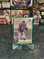 2019 Donruss Optic Devin Singletary Rookie Green Velocity Rated Rookie Bills RC