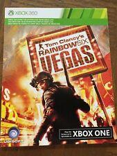 Rainbow Six Vegas & Vegas 2 (Both Games) Xbox 360 or Xbox One Download Card DLC
