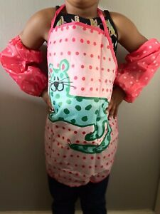 Kids Apron And Sleeve Protector