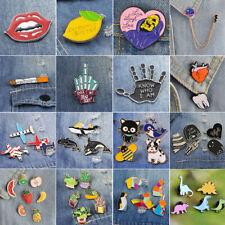 Set Halloween Cartoon Enamel Lapel Collar Pin Corsage Brooch Xmas Jewelry Gift
