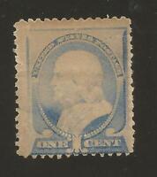 1887 US Stamp #212 1c Mint Hinged NG