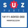 14111-60X50-000 Suzuki Manifold,exh 1411160X50000, New Genuine OEM Part