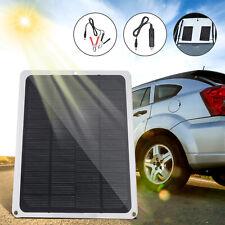 DC12V 10W Pannello solare con porta USB Caricabatterie per auto Portatile ITALY