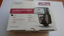Brand new Metz Mecablitz 44 AF-2 Digital Electronic Flash in Canon Fit