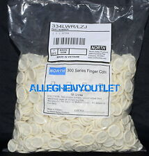 North Powdered Natural Rubber Latex Finger Cots 720 pcs. Large NIB