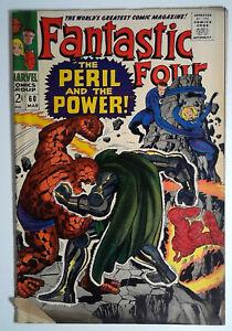 Fantastic Four #60 (1967) Marvel 2.5 GD+ Comic Book
