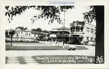brazil, PARA DE MINAS, Praça Wenceslau Braz (1952) Real Photo
