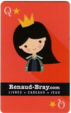 RENAUD-BRAY Limited Edition LITTLE QUEEN collectible Gift Card New No Value