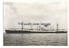 cd0125 - Dutch Nederland Line Cargo Ship - Bali , built 1947 - postcard
