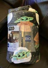 Disney Throw Blanket Baby Yoda Child Star Wars The Big One Oversized 5x6 Ft