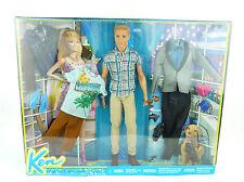 Barbie Ken Puppe & Bekleidungsset Fashion Geschenkset Mattel CDM26
