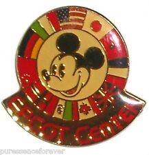 WDW Epcot Center: Mickey with World Showcase Flags Pin