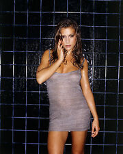 ALYSSA MILANO 8X10 PHOTO PICTURE PIC HOT SEXY BODY ALL WET IN SHOWER 92