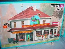 KIBRI 8706 Cina Restaurant 1:87 H0 nuovo e conf. orig.