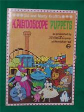 SID & MARTY KROFFT HR PUFNSTUF WITCHIE POO DOLL BOOK KALEIDOSCOPE PUPPET 1968