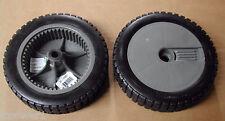 "[ROT] [11021] (2) 8""X2"" Plastic Lawnmower Wheels  Murray 071133"