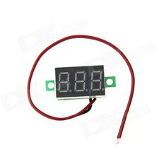 Digital DC Voltmeter 4.5-30V Module with RED Segment Display, 2 wire Module