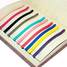 lOTS 10PC Women Girl Flat Top Curved Long Bobby Hair Pin Clips Barrette 85*5mm