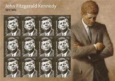 US PRESIDENT 2017 SCOTT #5175 JOHN FITZGERALD KENNEDY 12 FOREVER STAMP SHEET NIP