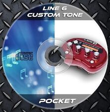 12.232 Patches Line6 Pocket POD Multi Effects Processor. Custom Tone preset