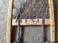SNOW SHOES LL BEAN THE MAINE SNOW SHOE 10X36 GOOD CONDITION