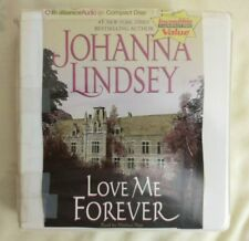 Audiobook on CD, Love Me Forever, Johanna Lindsey