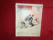 ENGLEBERT magazine n°38  noel 1947  : le salon de Paris ,automobile et moto