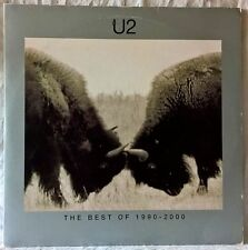 U2 THE BEST OF 1990-2000 2LP RARE 1st PRESSING