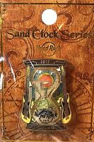 Hard Rock Cafe Atlanta 2017 Sand Clock Series Hourglass Time Pin LE New # 93245